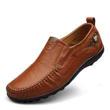 Eur 37 - 46, Большой размер обуви из натуральной кожи обувь высокое качество скольжения на мужчин классическая обувь бизнес обувь удобные(China (Mainland))