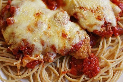 chicken parmiagna.