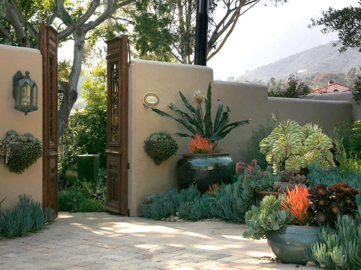 Take a peek at this revamped Southwestern-style garden area, featured througout these HGTV.com photos.