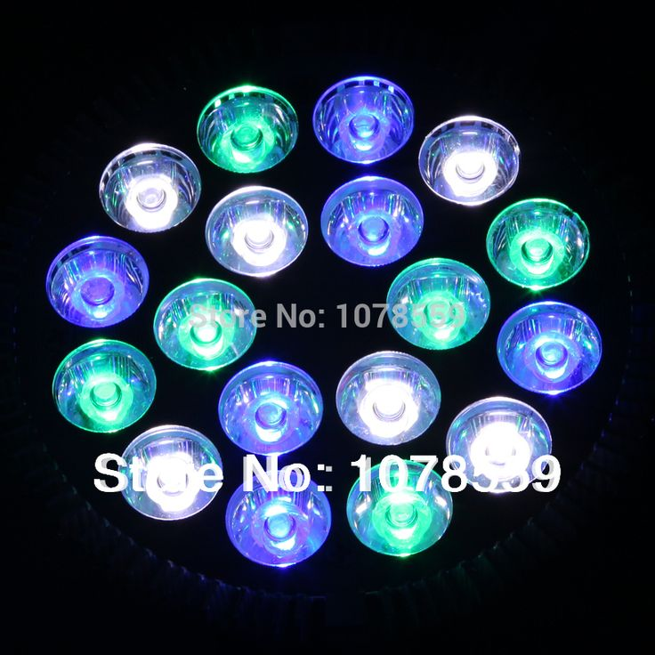 ==> [Free Shipping] Buy Best Hot sales 2014 New E27 54W 18X3W Full spectrum LED Coral Reef Grow Light High Power Fish Tank Aquarium Lamp LED Bulbs 85-265v Online with LOWEST Price | 1652350104