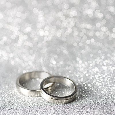 Wedding Rings On A Silver Background Printables Di 2019