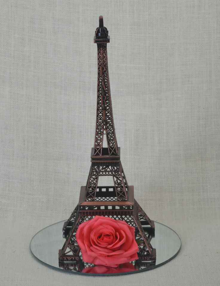 "15"" Eiffel Tower Replica, Metal Eiffel Tower Centerpiece, Paris Wedding, Eiffel Tower Centerpiece, Eiffel Tower Topper, Paris Wedding Decor by AFlowerAndMore on Etsy"