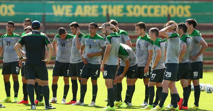 socceroos training in brazil