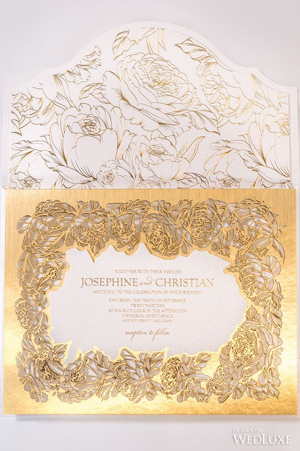 luxury wedding invitations dallas%0A It was love at first sight when we saw these breathtaking invitations