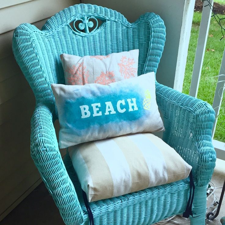Wicker Furniture Makeover Using Spray Paint Crafts Diy Pinterest Furniture