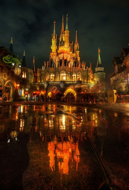 Cinderella's Castle, Walt Disney World, Florida.  Been here - loved this!