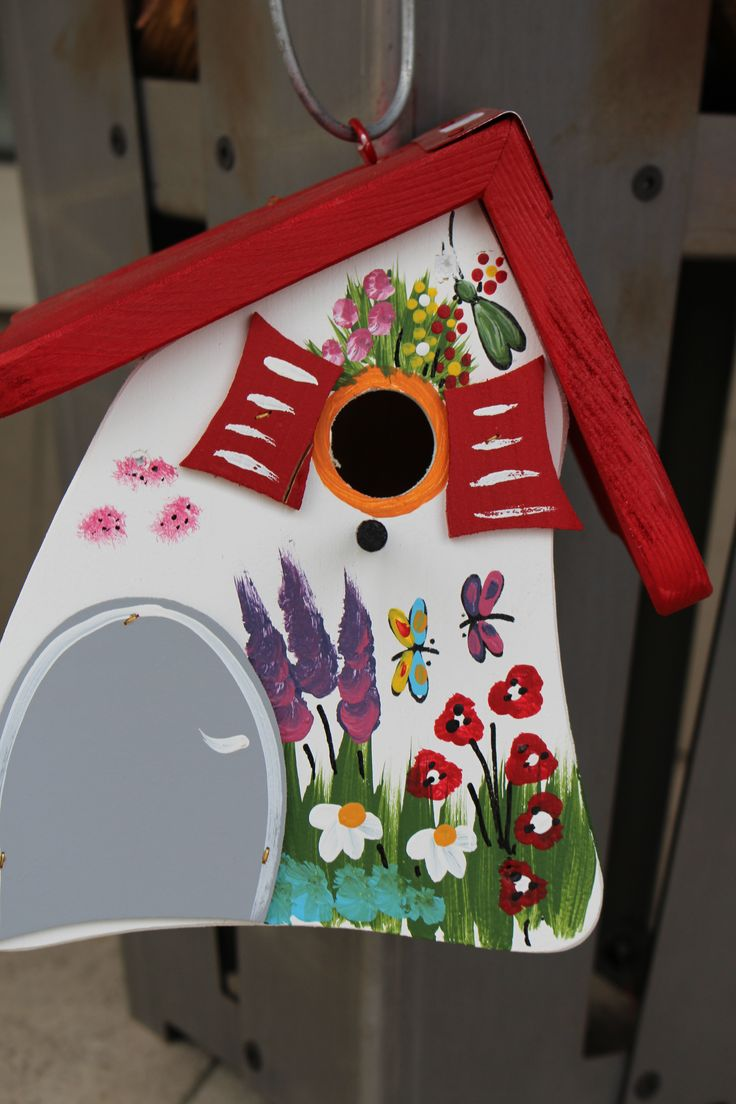 200 best images about objet peindre on pinterest bird houses country and shabby chic birdhouse. Black Bedroom Furniture Sets. Home Design Ideas