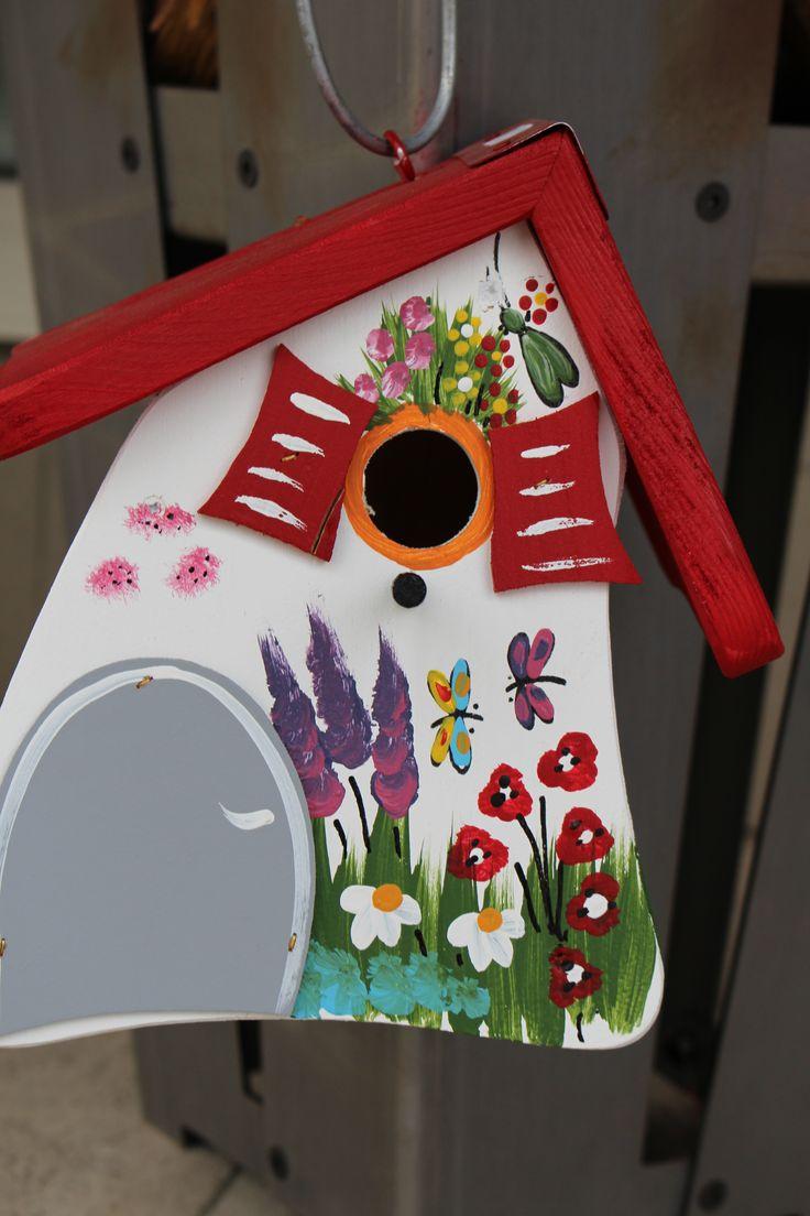 Zauberhafte Vogelhäuser ... <3   #Vogelvilla #dievogelvilla