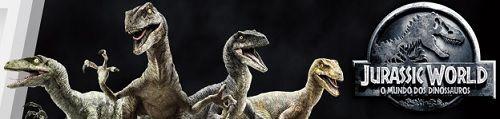 Aqui você vai encontrar a linha completa de brinquedos, bonecos e cenários do filme mais jurássico de todos os tempos: O Juarassic World - O mundo dos Dinossauros.