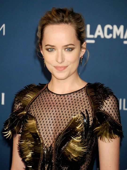 Hair Obsession: This Updo on Dakota Johnson (A.K.A. Anastasia in 50 Shades of Grey)
