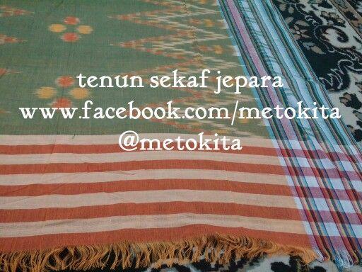 Handwoven fabric from Jepara, Indonesia FB: www.facebook.com/metokita Ig: metokita