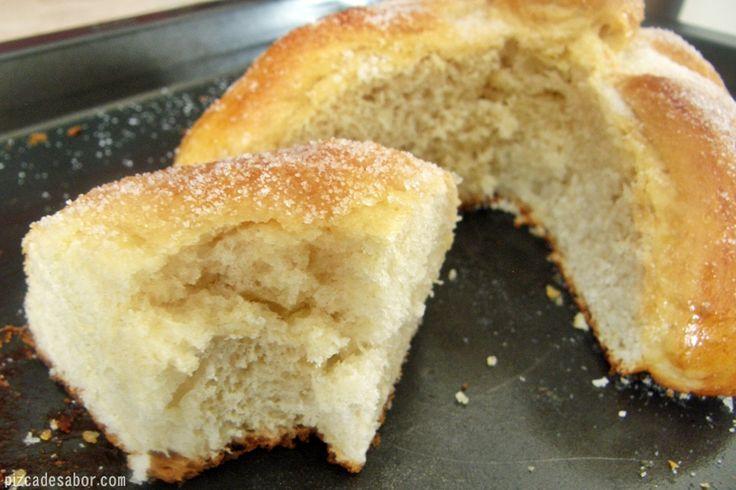 Pan de muerto (paso a paso) - www.pizcadesabor.com