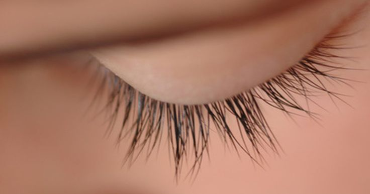 Like the hair on your head, eyelashes follow a growth rate pattern. If your eyelashes fall out or are damaged by mascara, plucking or dyeing, you have to wait for them to regrow. While the length and health of your eyelashes is determined by genetics, there are certain natural ways to make your eyelashes grow.