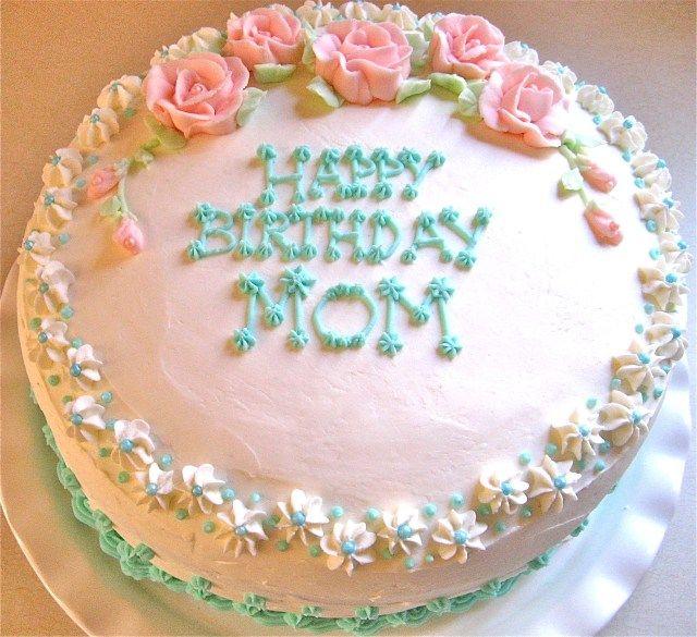 27 Pretty Photo Of Birthday Cake For Mom Happy Birthday Mom
