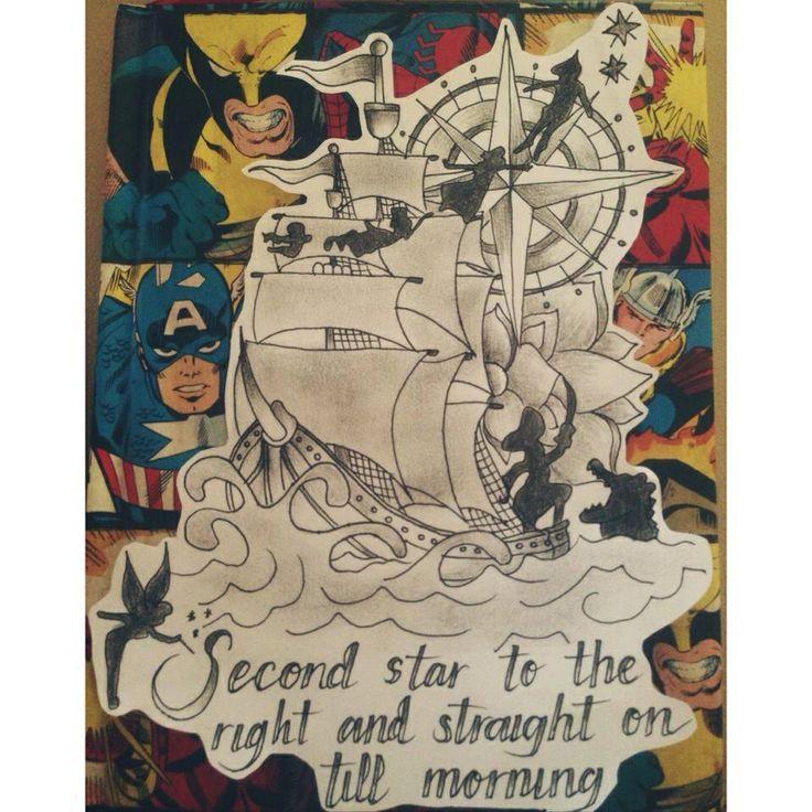Best 25+ Pirate Ship Tattoos Ideas On Pinterest