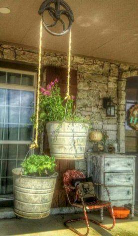 Kier here! Here are 110 best farmhouse porch decor ideas #diydecor #outdoordecor #diy #FarmhouseLandscape