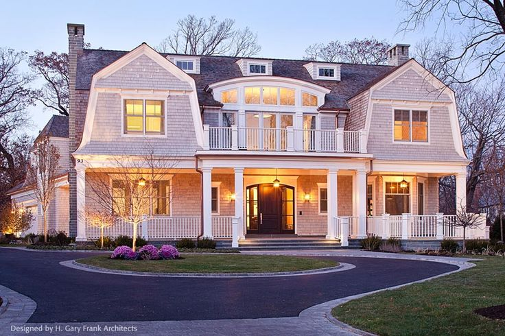 New England Shingle Style Architecture | Designed by H. Gary Frank Architects