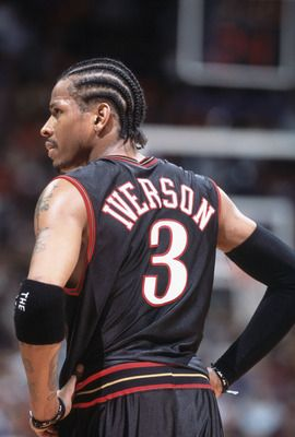 Tonight, this legends jersey is retired. #Iverson