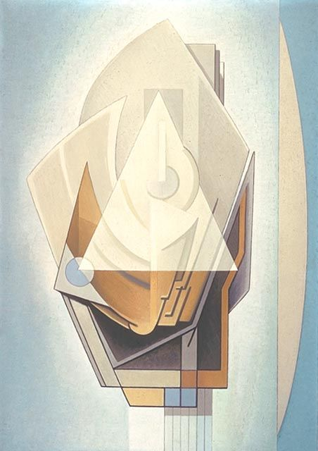 [][][] Lawren Harris. White Triangle. 1939.