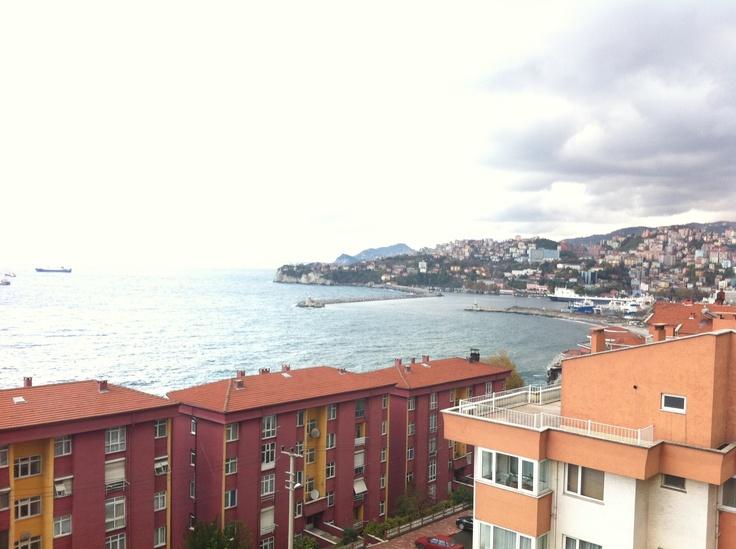 Home landscape :) Zonguldak