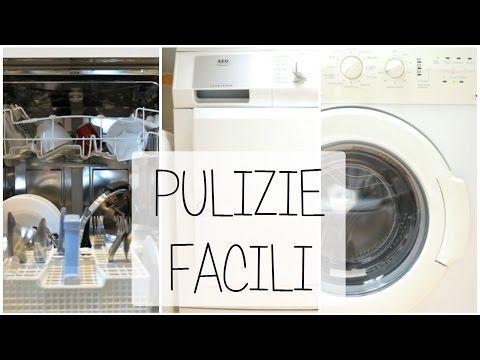 Come pulire la lavastoviglie, asciugatrice e lavatrice