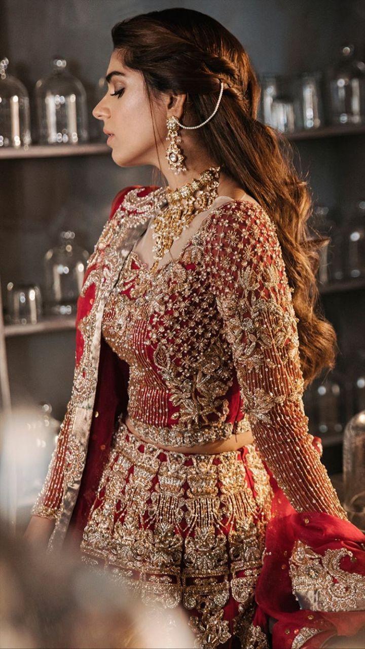 Red Pakistani Bridal Dress