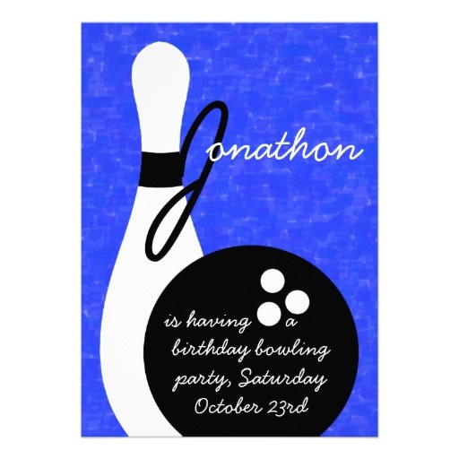 23 best Bowling Birthday Party Invitations images on Pinterest - bowling invitation template