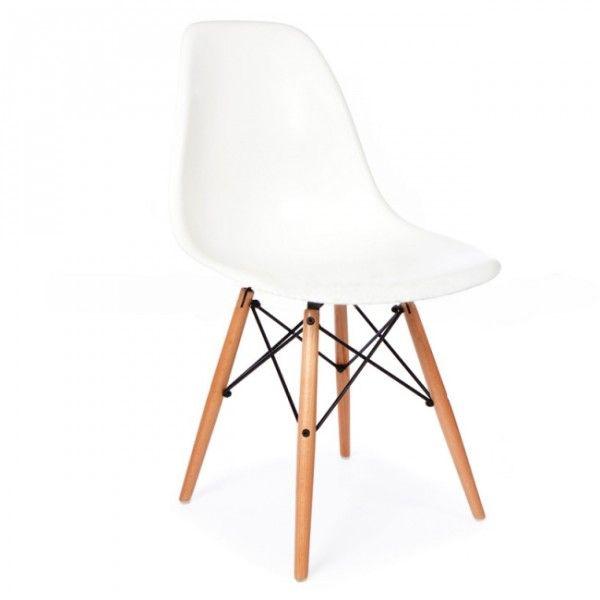 Superbe chaise Charles Eames d'inspiration modèle DSW 19 couleurs disponibles et en stock en FRANCE