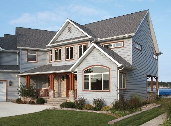 Gray Is The New Beige In House Colors House Colors Grey Vinyl Siding Grey Houses