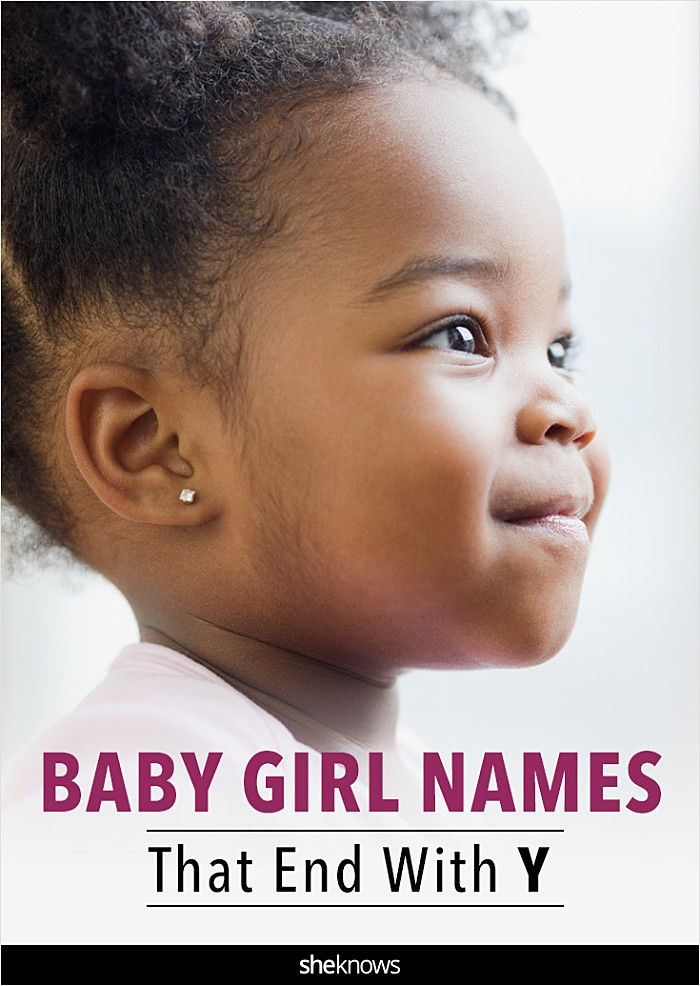 baby girl names that end in y