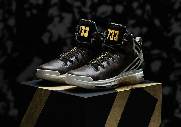 the best attitude 7da57 4db9a ... adidas originals d rose 6 boost bhm black talc brown aq7960 150 adidas  ...