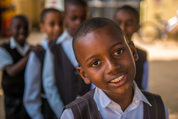 Children Zanzibar by Mehmet Emre