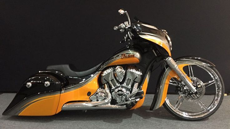 Arizona Sunset - Custom Chieftain   Indian Motorcycle