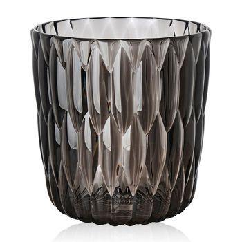 Kartell - Jelly Vase   - kristall/glänzend/Ø23.5cm/H 25cm
