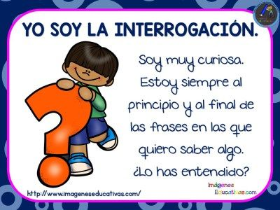 El uso de los signos de puntuación en imágenes ideal para primaria - Imagenes Educativas