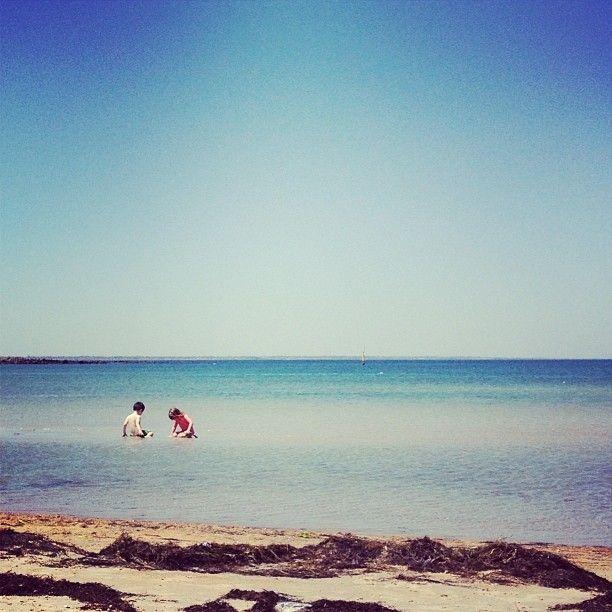 Kids at Altona Beach