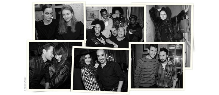 A l'occasion de la Fashion Week haute couture printemps-été 2014, l'agence de talents et de mannequins Next organisait mardi 21 janvier un dîner au restaurant Caviar Kaspia à P