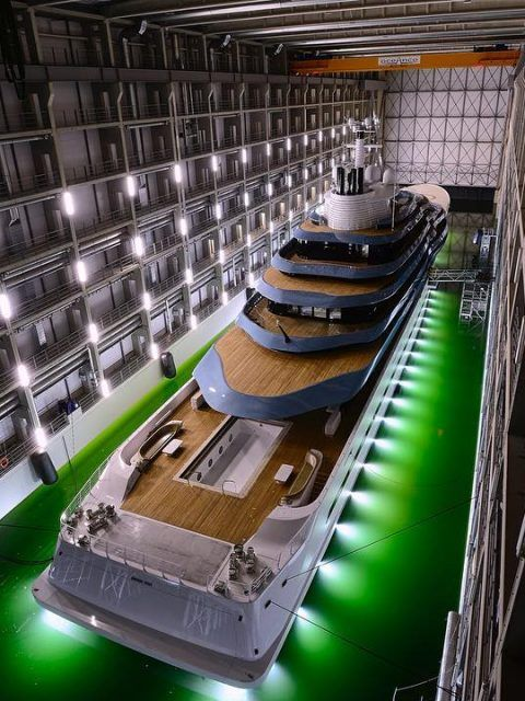 Check out this truly unique #superyacht. What an incredible design. Simply breathtaking. #SuperyachtsWeLove