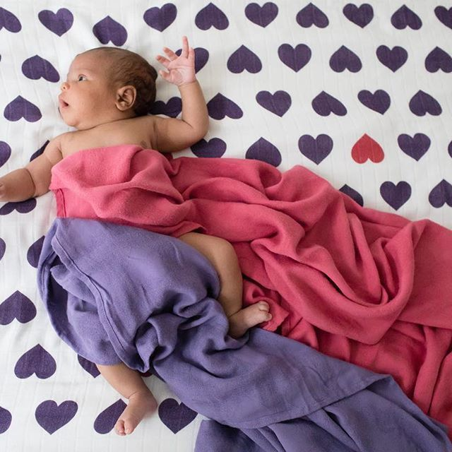 pink and purple hearts baby blankets baby tula love violette baby blanket