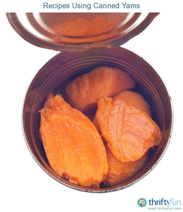 Canned Yams Recipe