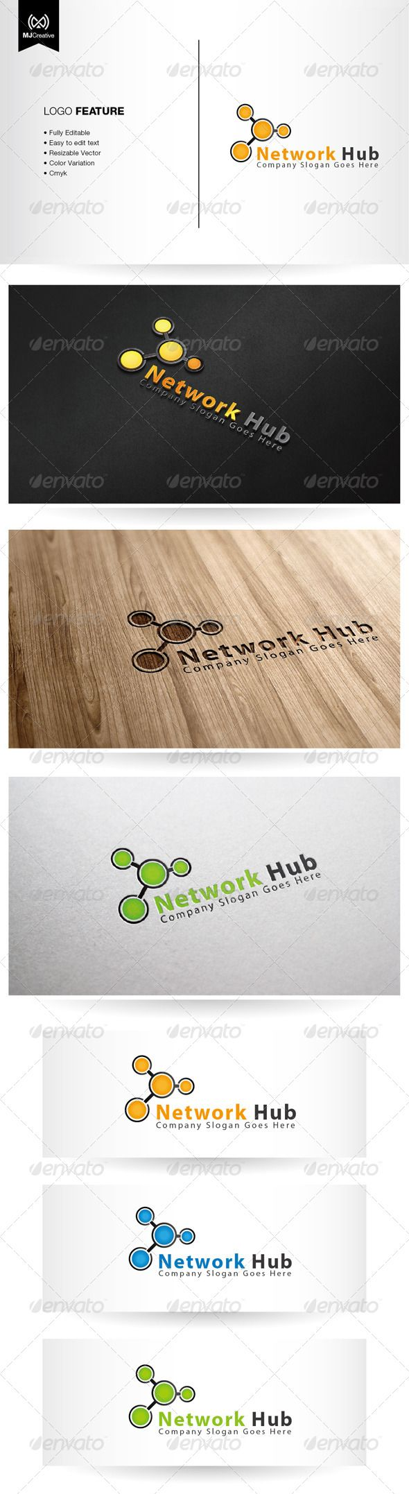 17 best images about logo templates logos business network hub logo