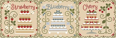 COUNTRY COTTAGE NEEDLEWORKS: Country Cottage Cakes: Country'S Crafts Dolls Tags, Country Cottages, Cottages Cake, Country Crafts Dolls Tags, Sweets Crosses, Cottages Needlework, Crosses Stitches, Stitches Pattern, Cake Cotton