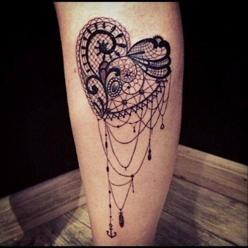 10 Elegant Lace Tattoo Designs For Women | Tattoo Art Club – Free ...