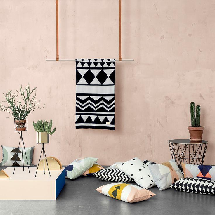 Die besten 25+ Ferm living kissen Ideen auf Pinterest Kleinkind - dekorative geometrische muster interieur