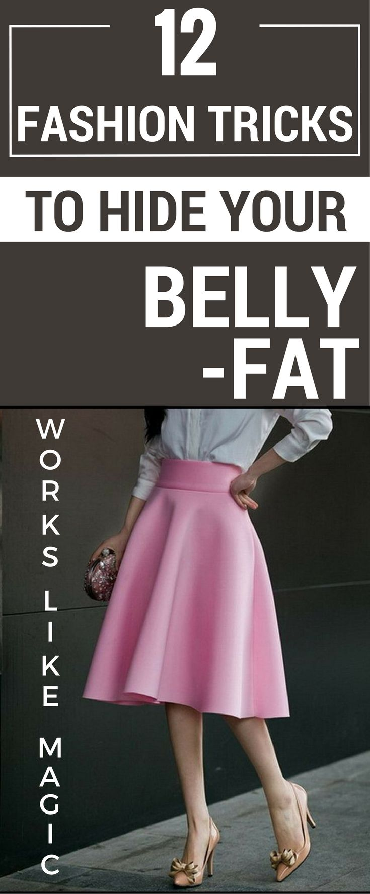 12 Fashion Tricks To Hide Your Belly Fat Chocolate Donuts Big Bowl And Delicious Chocolate