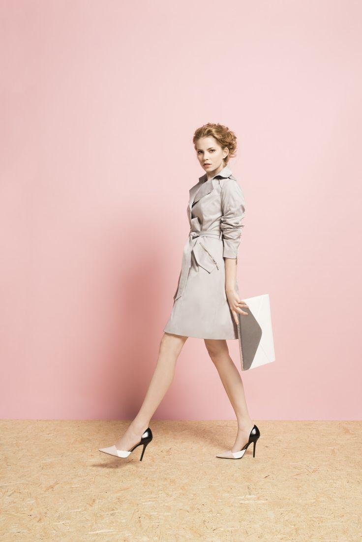 Kolekcja wiosna/lato 2014 #moda #kolekcja #lato #wiosna #wiosna-lato 2014 #SS2014 #danhen #lookbook #płaszczyk #klasyka #elegancja #kobiecość