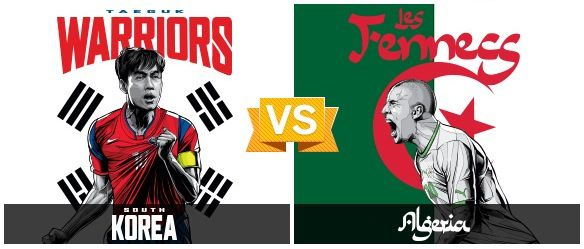 GRUPO H / #KOR vs #ARG (2 - 4) / 22.06.14 / Estadio Beira-Rio (Porto Alegre)