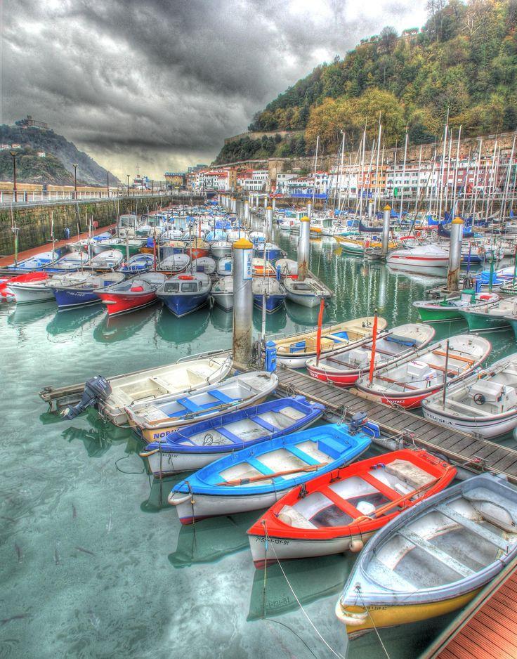 Marina at San Sebastian Donostia by Geoff Harrison on 500px
