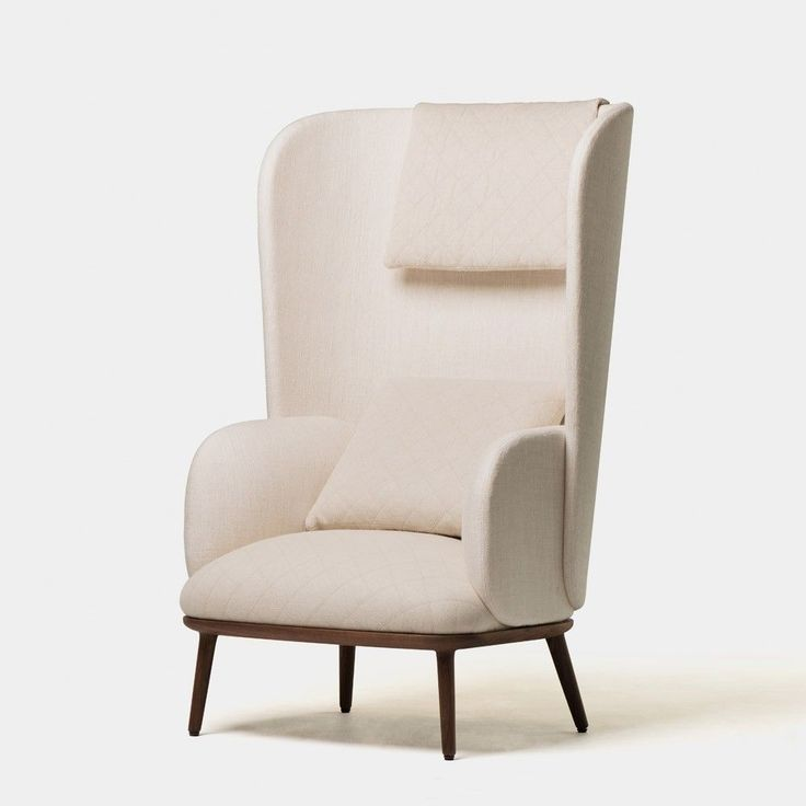 Blanche Bergre Wing Back Chair 412