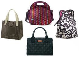 couple of my favorite best looking designer lunch bags for women